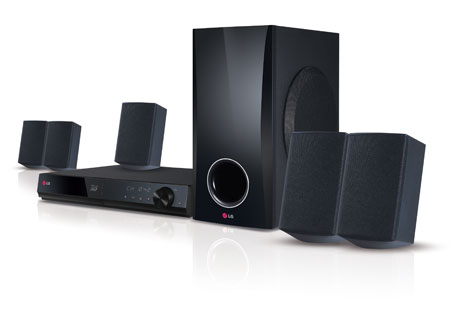 BH5140S Home Theater System - 4 Satellites