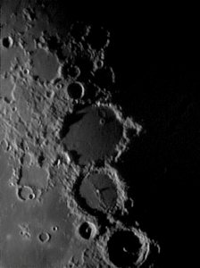 Crater Ptolemeaus shot at 350X with NexImage camera and Ultima barlow.