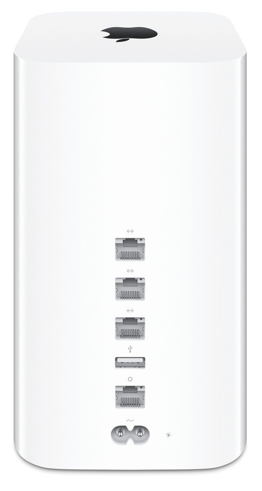 how to connect airport time capsule