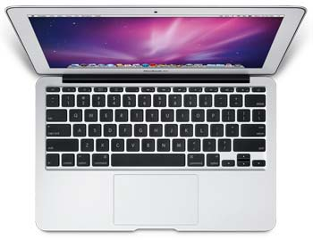 11.6-inch Apple MacBook Air keyboard
