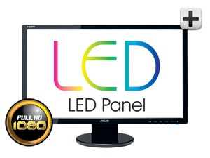 Full 1080P HD Display in a Space-Saving Size