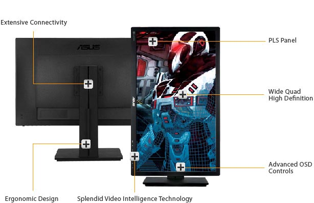 ASUS PB278Q PLS LED WQHD Monitor