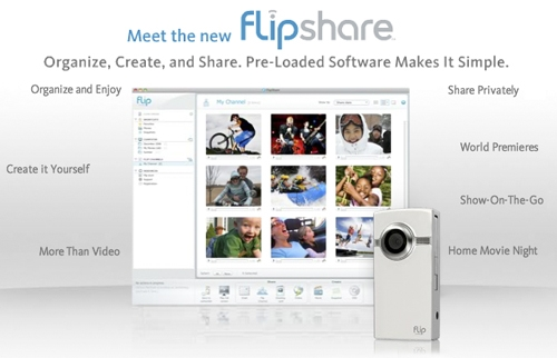 Click here to learn more about FlipShare software