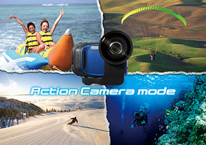 New action camera mode width=