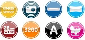 GE G-100 Digital Camera Featuers
