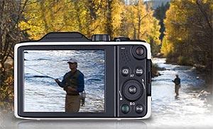 GE G-100 Digital Camera 15x Optical Zoom