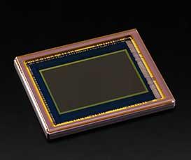 APS-C sized CMOS sensor