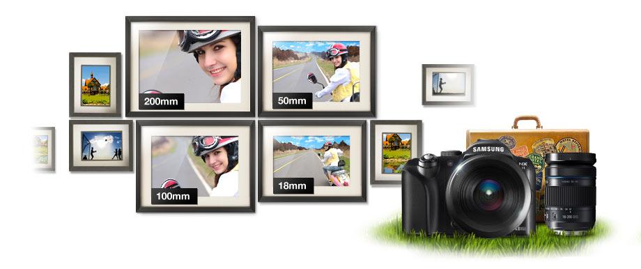 EX-L18200MB/UAS 18-200mm Lens Product Shot
