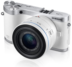 Samsung NX300 Smart Compact System Camera Product Shot