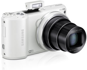 Amazon.com : Samsung WB250F 14.2MP CMOS Smart WiFi Digital Camera ...