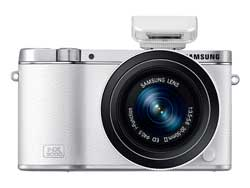 Samsung NX3000 Smart Camera with 16-50mm Lens and Flash