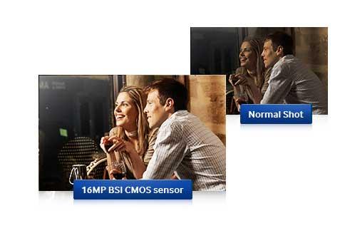 Samsung WB350F 16.3MP CMOS Smart WiFi & NFC Digital Camera with 21x