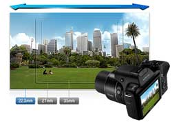Samsung WB1100F SMART Camera Product Shot