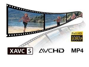 Record Full HD 1080/24/60P video up to 50MB/s