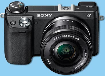 Amazon.com : Sony NEX-6L/B Mirrorless Digital Camera with 16-50mm ...