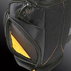 Zippered Side Pockets