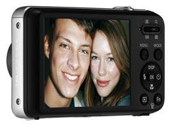 Samsung PL120 DualView 14.2 Megapixel Digital Camera (Black) Product Shot