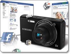 Samsung SH100 14-Megapixel Wi-Fi Digital Camera feature shot