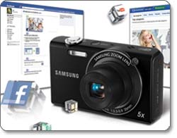 Samsung SH100 14-Megapixel Wi-Fi Digital Camera feature shot
