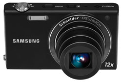 Samsung WB210 14 Megapixel Slim Digital Camera (Black) Product Shot