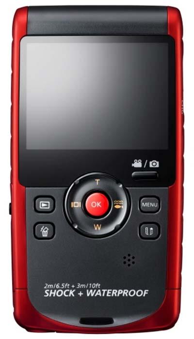 Amazon Com Samsung Hmx W200 Waterproof Hd Recording With
