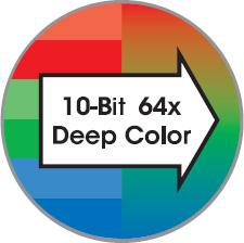 10-bit color