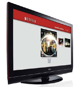 BD-300 netflix interface