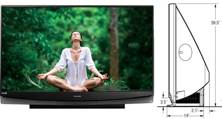 List of Synonyms and Antonyms of the Word: mitsubishi 65 television