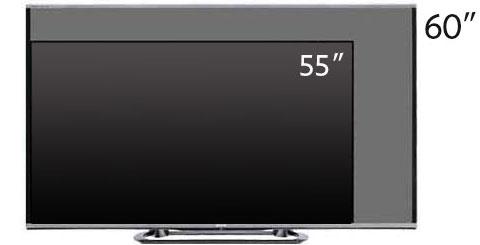 sharp lc 60le857 60 inch aquos quattron 1080p 240hz smart led 3d hdtv 2013 model. Black Bedroom Furniture Sets. Home Design Ideas
