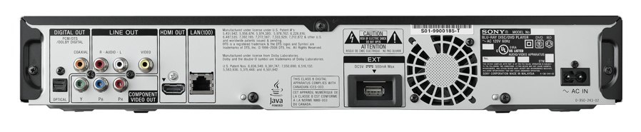 Sony BDP-N460 Blu-ray Player 64 BIT