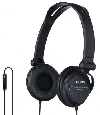 sony monitor series studio headphones with ipod iphone remote control drv 150ip. Black Bedroom Furniture Sets. Home Design Ideas