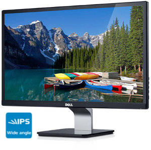 "Dell S2240M 21.5"" Monitor with LED Panel Details and ultrawide angle: When it's on, you're there."