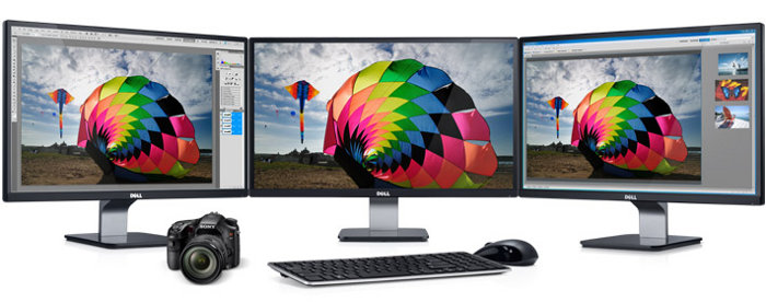 "Dell S2340M 23"" Monitor with LED: Brilliant by design."