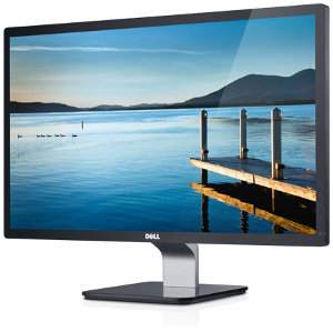 "Dell S2440L 24"" Monitor with LED Panel and ultrawide angle:  When it's on, you're there."