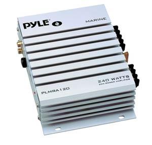 pyle plmra120 240 watt 2 channel waterproof marine car amplifier car electronics. Black Bedroom Furniture Sets. Home Design Ideas
