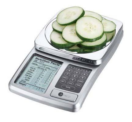 Kitrics Digital Nutrition Scale Silver