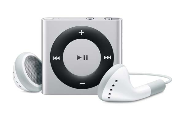 Apple iPod Shuffle  4G 2GB Pink rosa