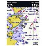GPSMAP 541s charts