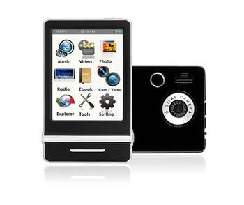Ematic E4 Video MP3 Player