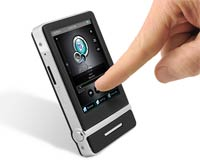 Ematic E4 Video MP3 Player Touchscreen