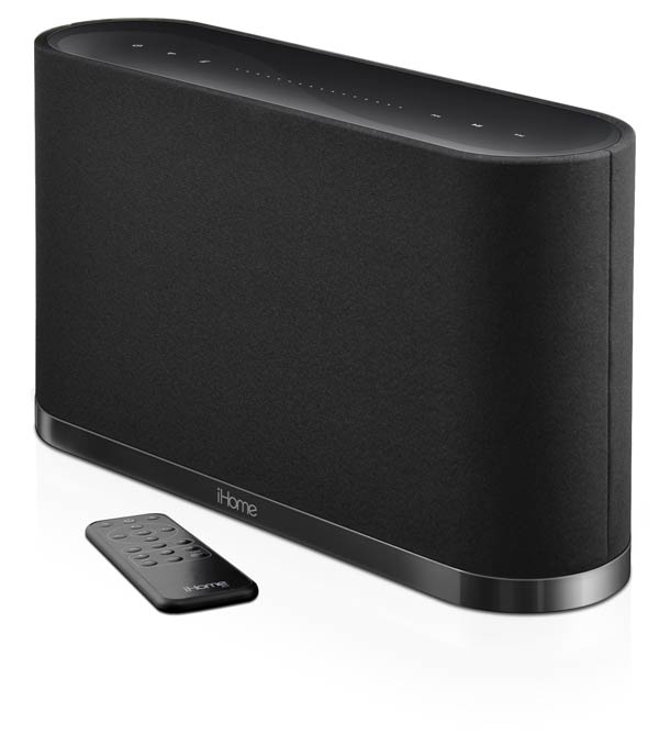 iHome iW10 AirPlay Wireless Stereo Speaker System with Rechargeable Battery