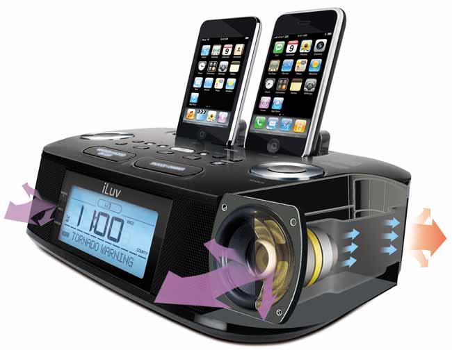 amazon com iluv imm183 hi fi dual alarm clock radio with noaa rh amazon com iluv imm183 manual