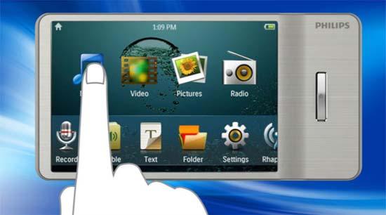 amazon com philips gogear muse 16 gb mp3 player silver home rh amzn to Philips GoGear Aria 8GB GoGear Aria Driver