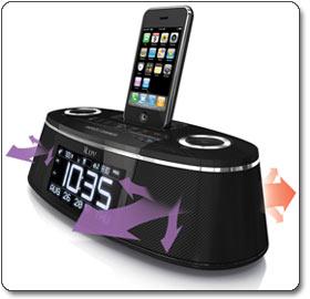 The iLuv iMM178 Vibe PLus Dual Alarm Clock