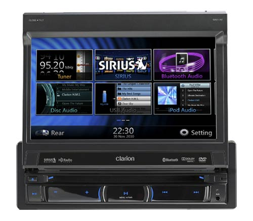 B004SH7CLG 1 amazon com clarion corporation of america nx501 6 inch double din  at bayanpartner.co