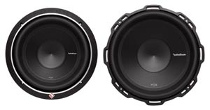Rockford Fosgate P3D4-10 Front Views