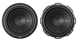 Rockford Fosgate P1S4-12 Front Views