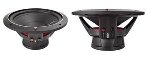 Rockford Fosgate P1S4-12 Side Views