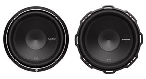 Rockford Fosgate P2D4-12 Front Views