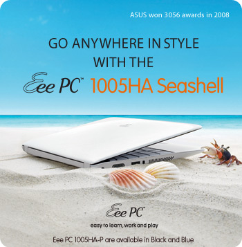 Eee PC 1005HA - The Ultimate Road Warrior